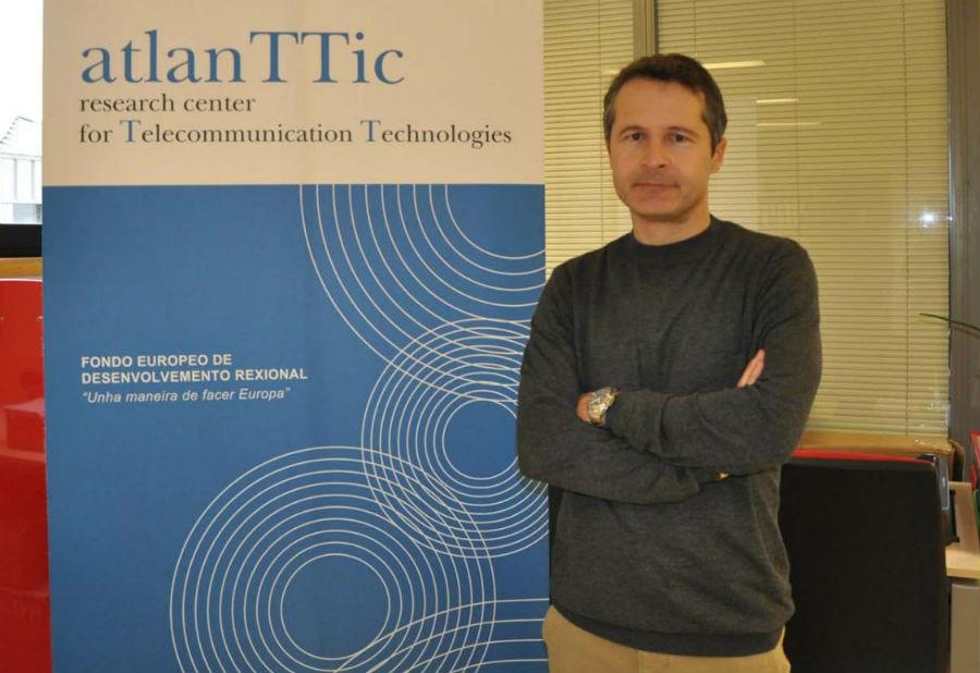 O director de atlanTTic, Carlos Mosquera. Foto: Duvi.
