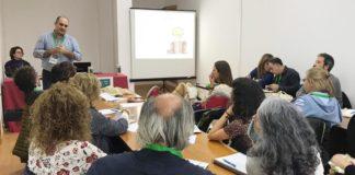 Miguel Ángel Rodríguez, da Fundación de axuda contra a drogadicción (FAD), impartiu un dos seminarios da primeira xornada do congreso en Catoira. Fonte: Duvi.