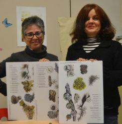 As investigadoras Eugenia López de Silanes e Graciela Paz participan no proxecto. Foto: Duvi.