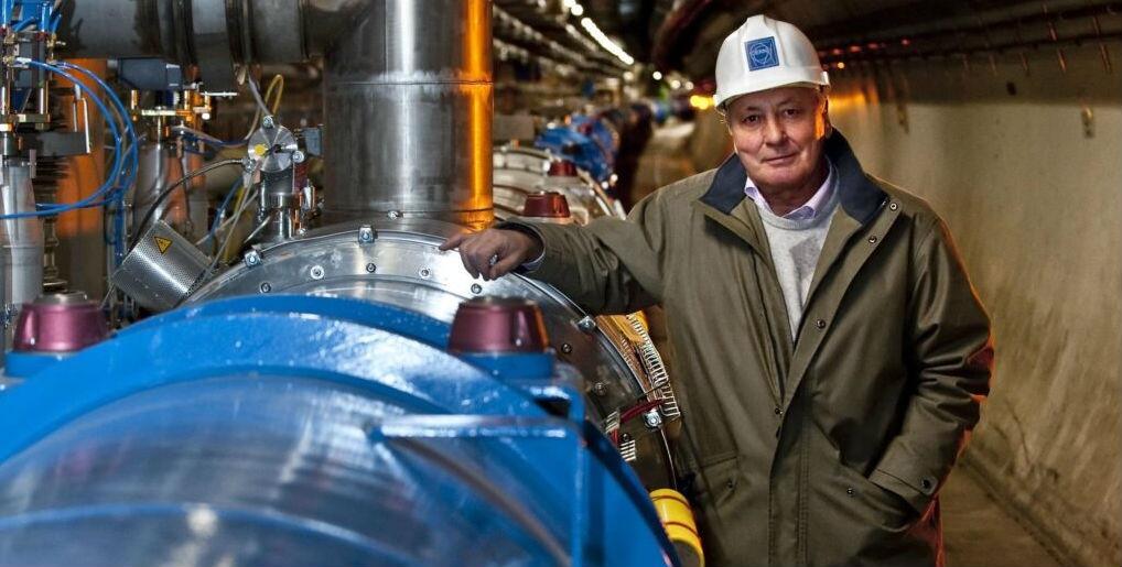 Lyn Evans, a carón do LHC. Foto: CERN.