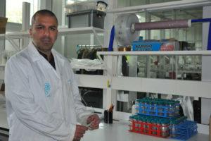 O científico da UVigo Gianluca Marino participou no traballo sobre o último período interglaciar. Foto: Duvi.