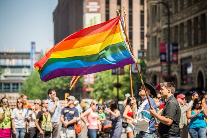 Manifestación do colectivo LGTBI. Fonte: Tony Webster / CC BY 2.0.