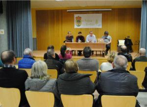 Presentación dos resultados da datación, celebrada este venres na Pobra do Brollón.