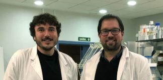 Daniel Sobrido e Antón Barreiro, dous dos autores do estudo sobre o efecto da taurina.