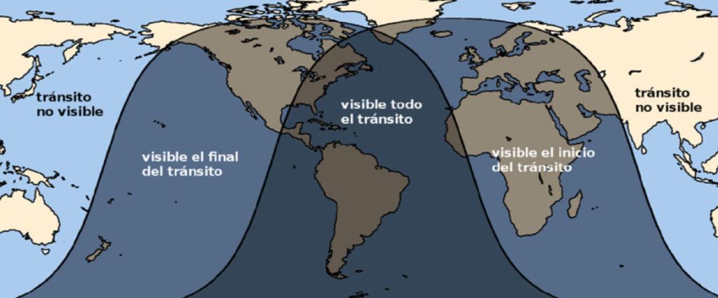Galicia será, se a nubosidade o permite, unha das zonas de Europa onde o tránsito será máis longo. Fonte: IGN.
