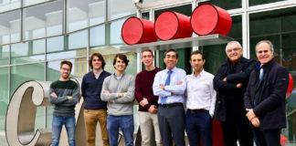 Varios dos autores do estudo. David Filgueiras é o terceiro pola dereita. Foto: CNIC.