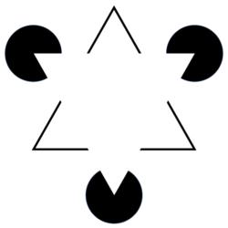 Triángulo de Kanizsa.