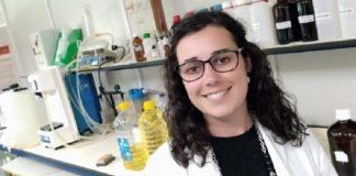 Leticia Pérez, autora da tese sobre as microalgas. Foto: Duvi.