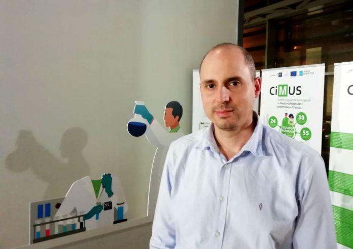 José Tubío, líder do grupo de Xenomas e Enfermidade do CiMUS, que asina os tres artigos sobre retrotransposóns publicados polo grupo