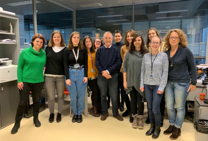 Equipo dirixido por Ángel Carracedo que asina o novo traballo sobre autismo. Foto: USC.
