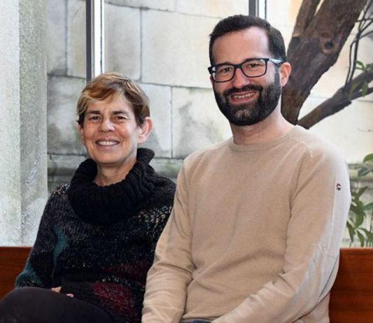 Margarita Taracido e Dominic Royé, investigadores da USC. Foto: Santi Alvite.