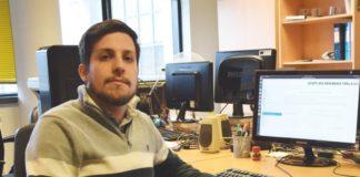 Víctor Mondelo, creador da ferramenta para facilitar a diagnose de electrocardiogramas. Foto: Duvi.
