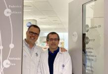 Federico Martinón e Antonio Salas lideran o grupo GenVip do IDIS de Santiago. Foto: IDIS.