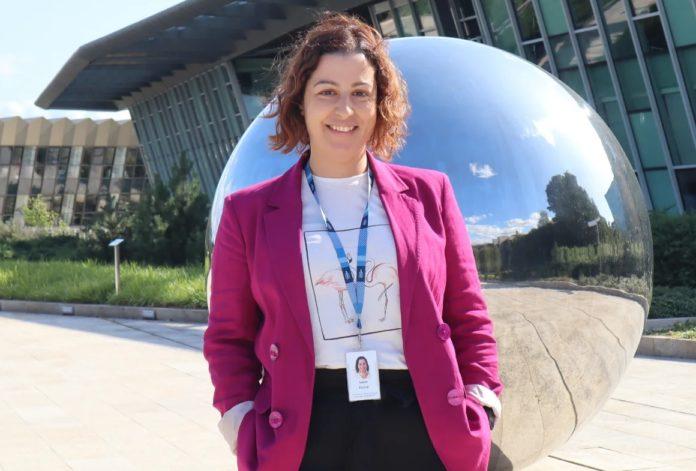 Laura Fachal, investigadora do instituto Sanger.