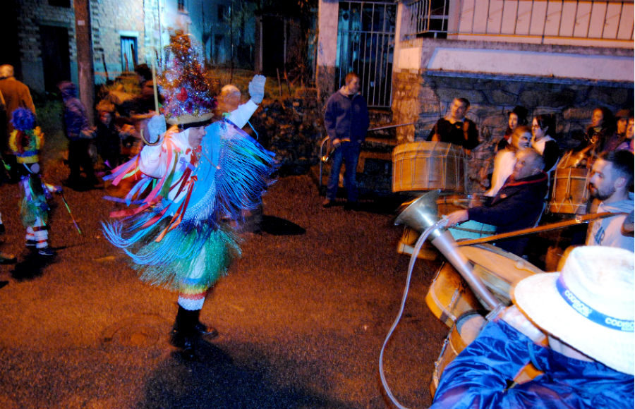 Folión en Manzaneda. Fotos: R. Pan.
