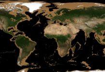 Situación dos océanos cando a auga desaparece ata os 3.300 metros de profundidade. Fonte: James O'Donoghue.