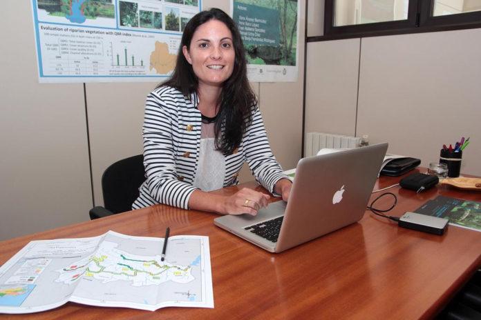Xana Álvarez é investigadora na Escola de Enxeñaría Forestal de Pontevedra.