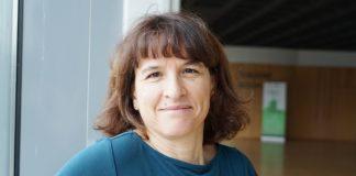 """Carmen Rivas dirixe o grupo """"Virus e Cancro"""" no CiMUS de Santiago de Compostela. Foto: CiMUS/USC."""