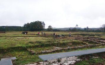 Campamento romano de Ciadella. Foto: Duvi.