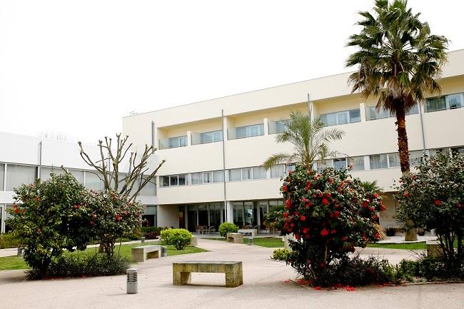 Residencia DomusVi de Barreiro, en Vigo, onde se produciron máis de 20 casos de SARS-CoV-2. Foto: domusvi.es.