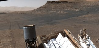 """Detalle da fotografía que amosa a gran resolución acadada pola imaxe tomada por """"Curiosity"""". Fonte: NASA."""