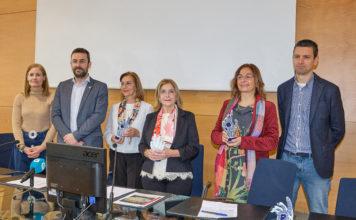As netas de Ángela Ruiz reciben figura institucional do CPEIG. Foto: CPEIG.