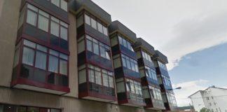 Residencia de maiores San Carlos de Celanova, onde se confirmaron alomenos 25 casos de coronavirus. Fonte: Google Street View.