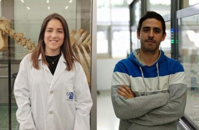 Paula Rodríguez e Cristian Vidal, recoñecidos nos premios