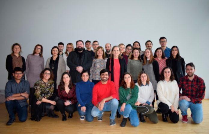 Grupo Nanobiofar de Santiago de Compostela, que lidera a investigación. Foto: CiMUS.