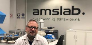 Manuel Lolo é o CEO de AMSlab, que ten a súa base no polígono do Ceao de Lugo.