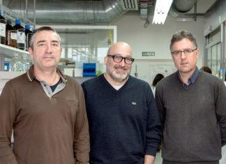 José Manuel Martínez Costas, Eugenio Vázquez Sentís e José Luis Mascareñas. Foto: CiQUS.