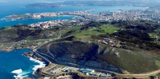 A depuradora de Bens recolle as augas residuais da cidade da Coruña e a súa área metropolitana. Foto: EDAR Bens SA.