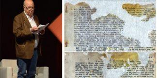 A novela de Méndez Ferrín foi localizada entre os arquivos do Centro Documental da Memoria Histórica. Foto: Duvi.