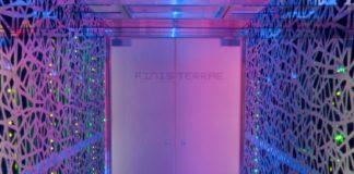 Supercomputador Finisterrae nas instalacións do Cesga en Santiago. Fonte: cesga.es.