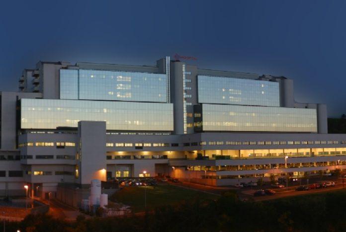 Vista do Complexo Hospitalario Universitario de Santiago. Foto: Sergas.