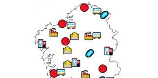 A cartografía terá en conta variables como os centros hospitalarios, as liñas de transporte, os movementos de poboación ou os focos xurdidos ata o momento.