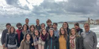 Equipo de Francesc Villarroya (á dereita), autor principal do artigo. Foto: Ciberobn.