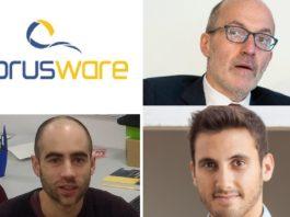 A empresa Torusware, Senén Barro, Adrián Pérez e Daniel Valcarce, galardoados nos Premios Nacionais de Informática.