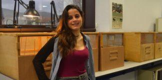 Anais Rivas, investigadora da Escola de Enxeñaría Forestal de Pontevedra. Foto: Duvi.