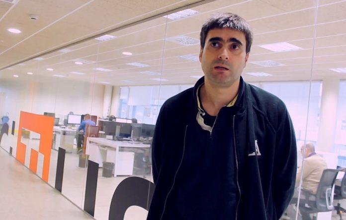 José Ramón Ríos é o investigador responsable do proxecto TRAFAIR en Santiago. Foto: CiTIUS.