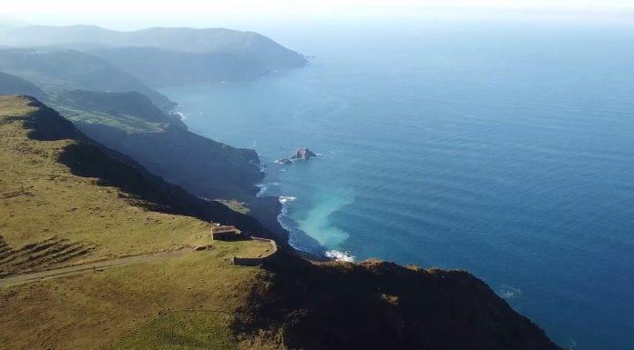 Vista da Serra da Capelada. Imaxes: XeoClip.