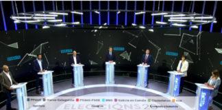 O debate das eleccións galegas expuxo tamén as propostas dalgúns partidos para apostar pola ciencia e a investigación. Imaxe: CRTVG/Elaboración propia.