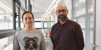 Raquel Nieto e Luis Gimeno coordinarán a participación do laboratorio da UVigo no proxecto. Foto: Duvi.