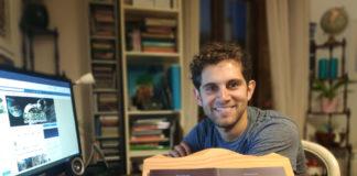 Manuel Rey é redactor de GCiencia desde maio de 2016. Foto: L. Pazos.