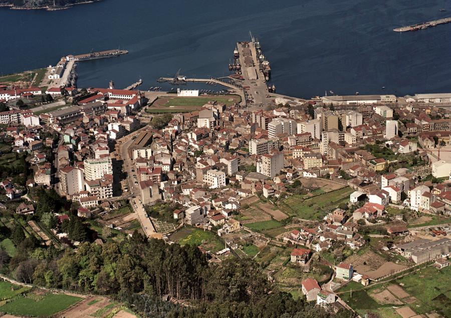 Casco urbano de Marín.