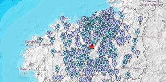 O terremoto con epicentro en Tordoia xerou centos de notificacións ao IGN nas horas posteriores.