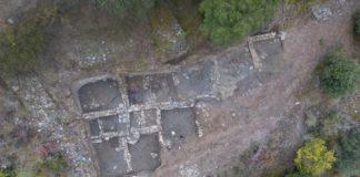 Vista aérea do xacemento de Valencia do Sil. Foto: Sputnik Labrego.