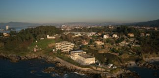Instalacións do Centro Oceanográfico de Vigo, en cabo Estai. Foto: IEO.