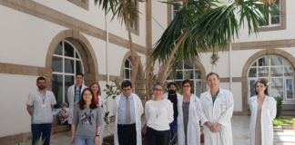 Grupo do Inibic galardoado pola Real Academia Galega de Ciencias. Foto: RAGC.