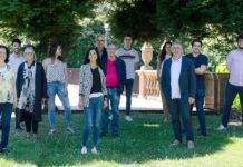 Grupo Paraquasil da USC, que formulou a laca que actúa sobre as infeccións fúnxicas e a psoríase nas unllas. Foto: Real Academia Galega de Ciencias.